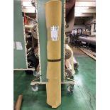 1 x Ryalux Carpet End Roll - Yellow 4.7x2.3m2