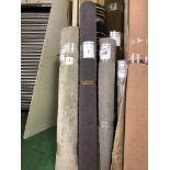 1 x Ryalux Carpet End Roll - Dark Grey 3.0x2.1m2