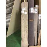1 x Ryalux Carpet End Roll - Light Grey 3.5x1.9m2