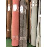 1 x Ryalux Carpet End Roll - Grey 6.0x2.0m2
