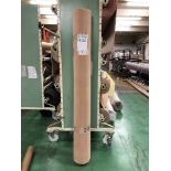 1 x Ryalux Carpet End Roll - Cream 5.0x2.2m2