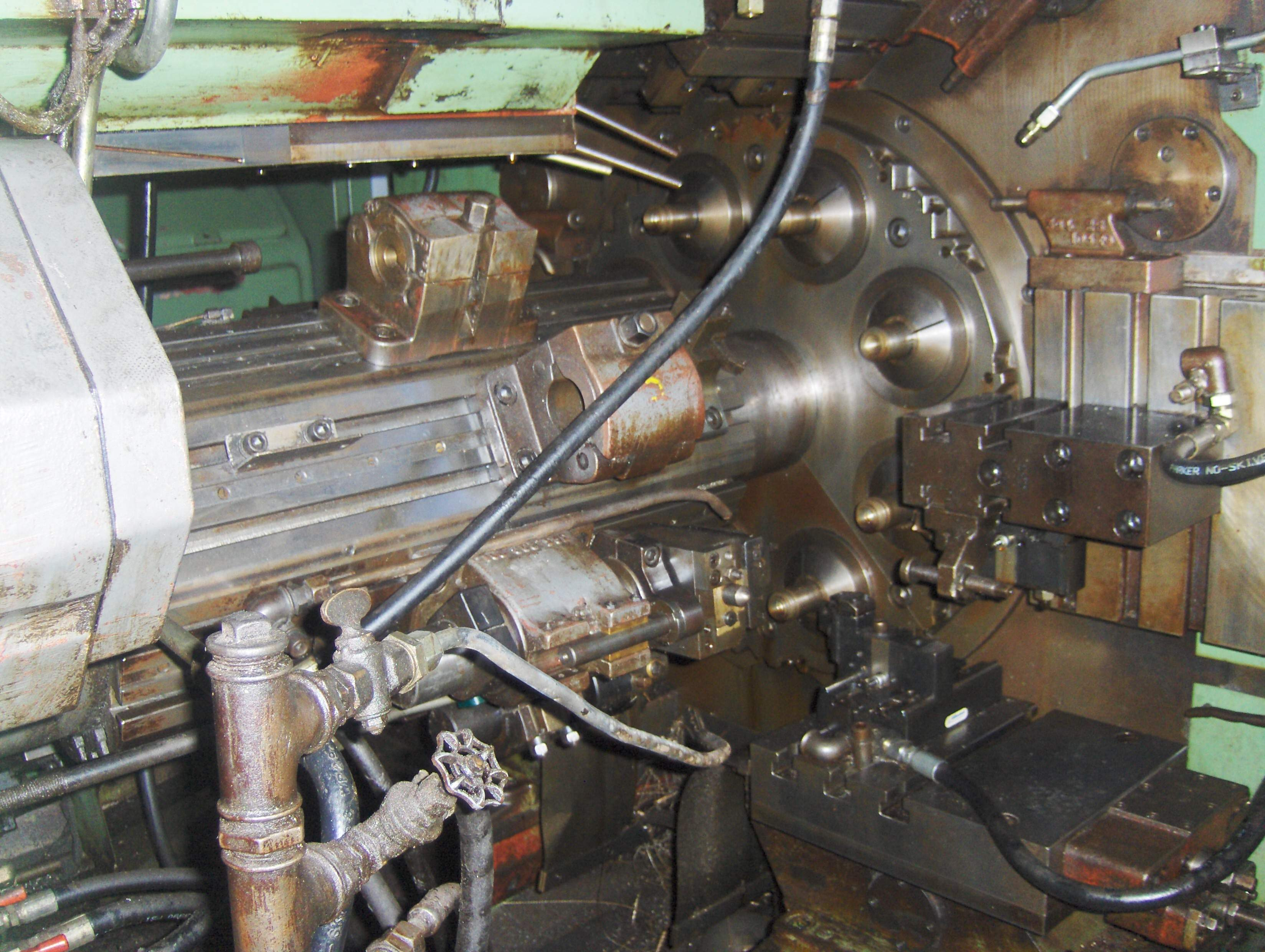 Lot 17 - Gildemeister Model AA 67-8, 8-Spindle Automatic Lathe