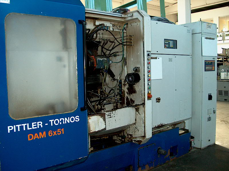 Lot 15 - Pittler Model PM 51-6, 6-Spindle Automatic Lathe