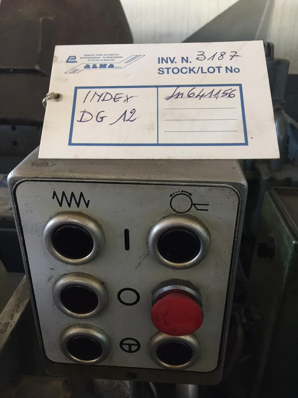 Lot 44 - Index Model DG 12, Single Spindle Automatic Lathe