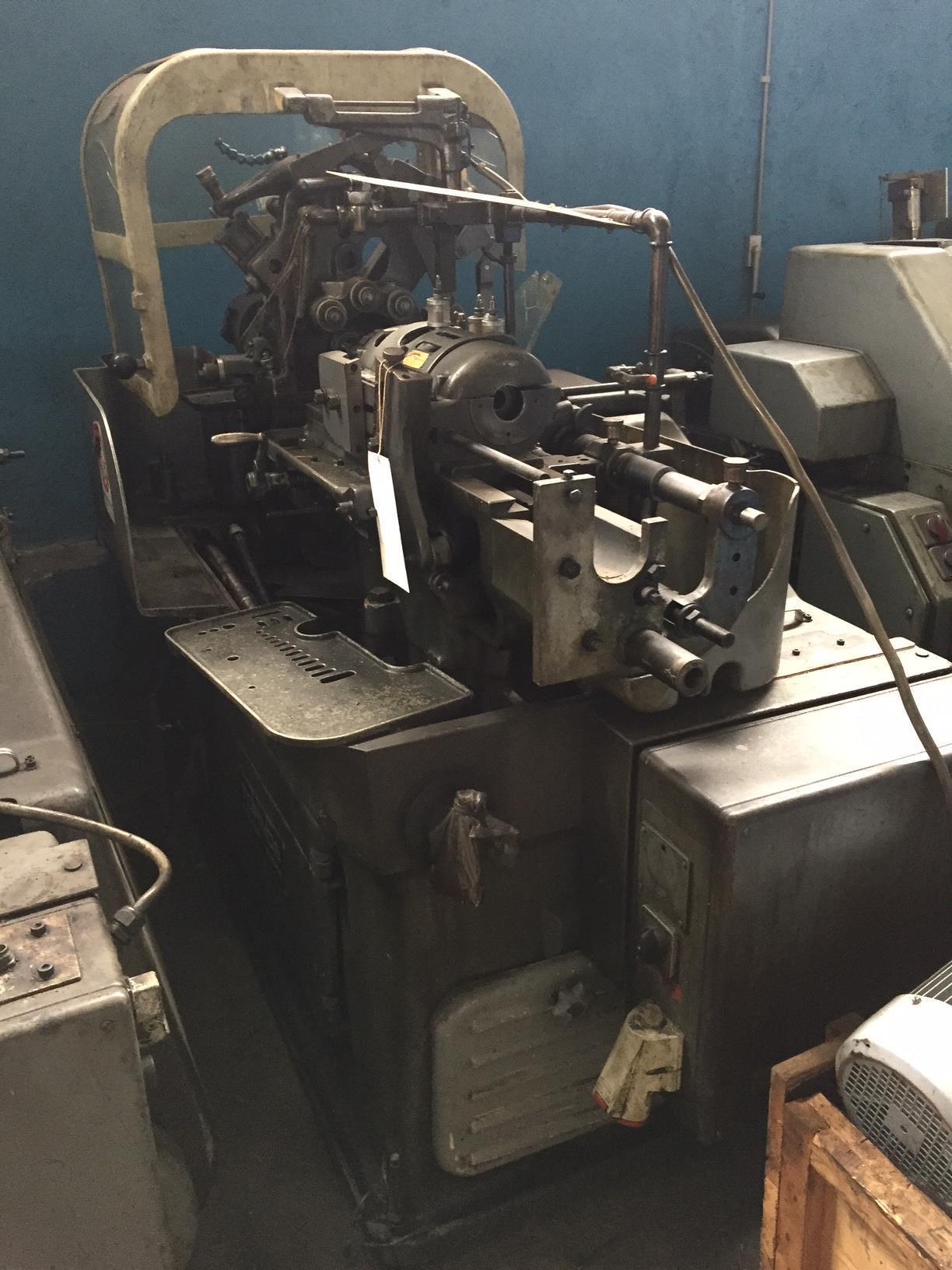 Lot 7 - Tornos Model RR 20 Single Spindle Automatic Lathe