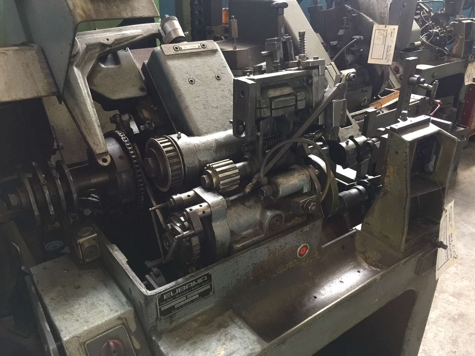 Lot 39 - Eubama Model S5 Transfer Machine