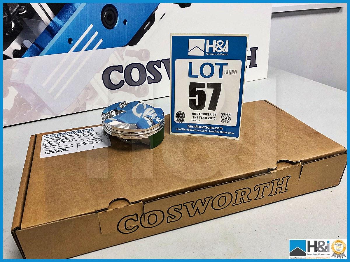 Lot 57 - 35 x Cosworth Lotus Evora GL GT2 pistons PGR 16:1. Code 20023580. Lot 236