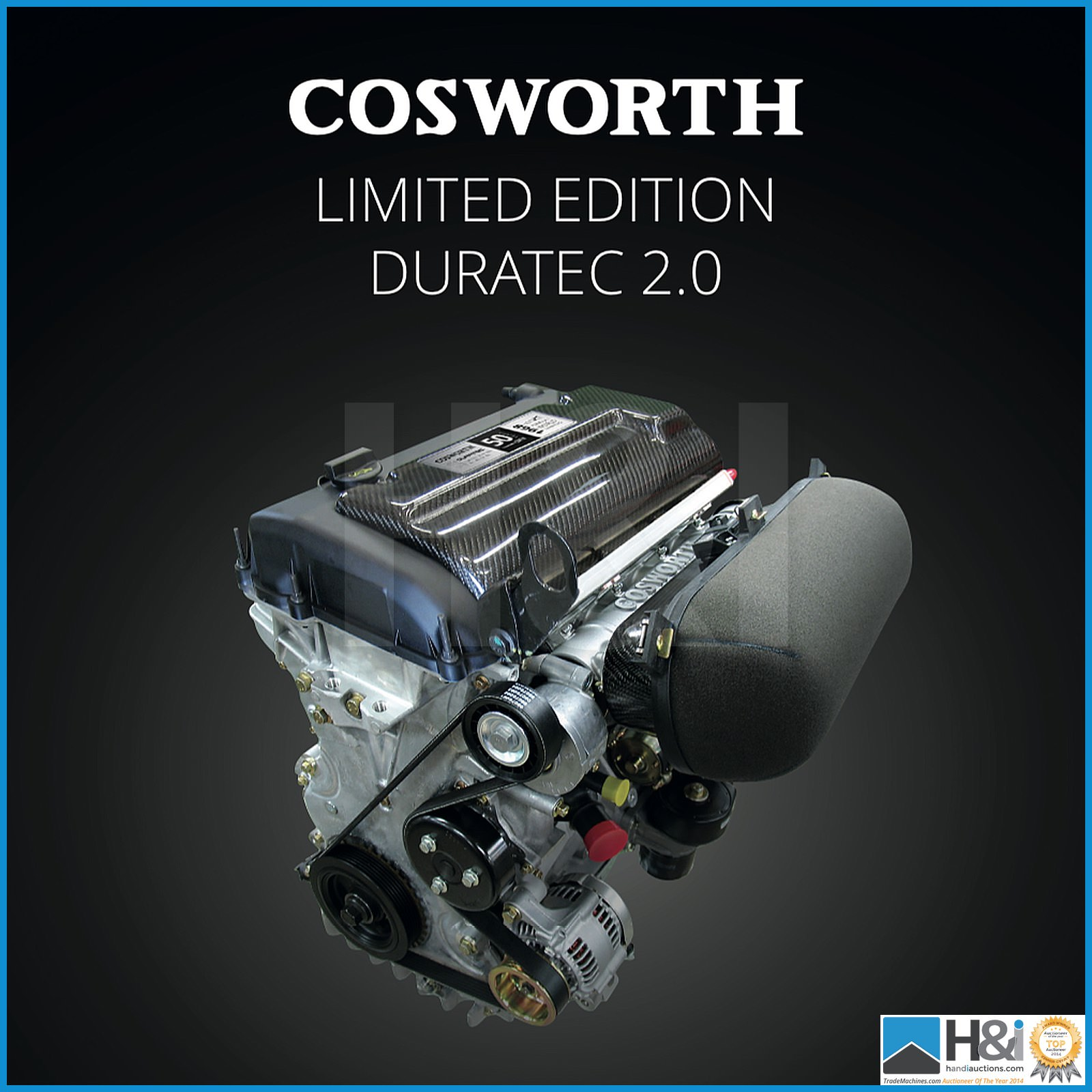 Limited Edition, Brand New Cosworth Duratec 2.0L 255 BHP