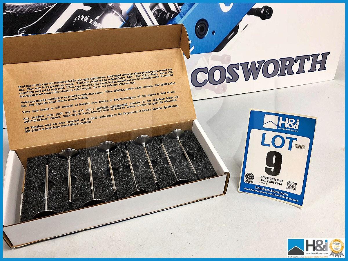 Lot 9 - 48 x Cosworth XG Indycar Valve - inlet HS. Code: XG2595. Lot 223