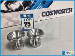 Lot 25 - 9 x Cosworth Lotus GLC GT2 trumpet air restrictor. Code: 20024592. Lot 233