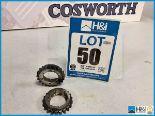 Lot 50 - 3 x Cosworth TJ crankshaft gear. V10 Formula 1 Code: TJ2410. Lot 227