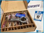 Lot 17 - 1 x Box of 6 Cosworth Lotus GL con rod assy - piston guided GT2. Code: 20024621. Lot 200