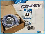 Lot 54 - Approx 160 x Cosworth XG Indycar throttle butterflies - 19deg, 3 hole. Code: XG0816. Lot 238