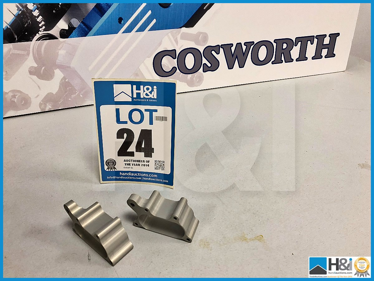 Lot 24 - Approx 27 x Cosworth XG Indycar trumpet mid 30 dia Cylinder 4 & 5, 30 LG. Code: XG1755. Lot 284
