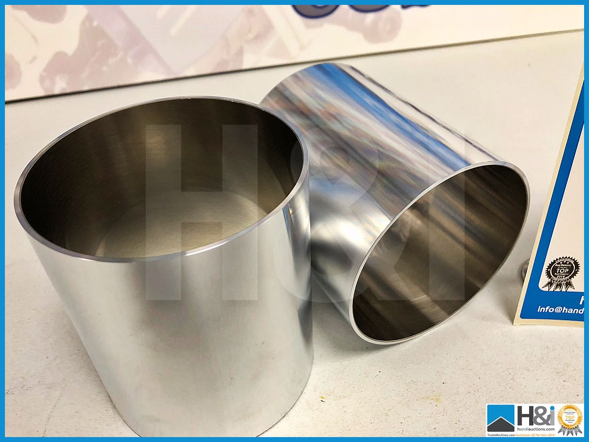 Lot 39 - 7 x Cosworth XG Indycar cylinder liner grade B laser honed. Code: XG2723. Lot 230