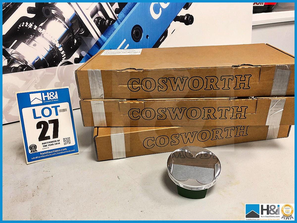 Lot 27 - 15 x Cosworth XG Indycar piston profile pinbore XG2587. Code: XG2717. Lot 251
