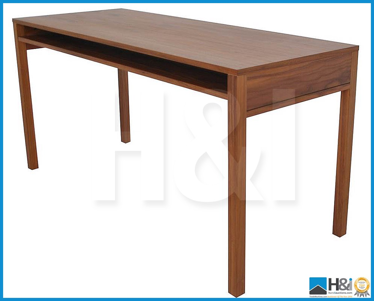 Lot 25 - Stunning black walnut bedroom furniture set comprising: 2-door wardrobe - H 193cm x W 110cm