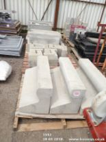 Lot 1552 - VRS KERB STONES & DRAIN SURROUND ON 5 PALLETS