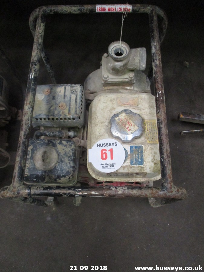 Lot 61 - HONDA WATER PUMP