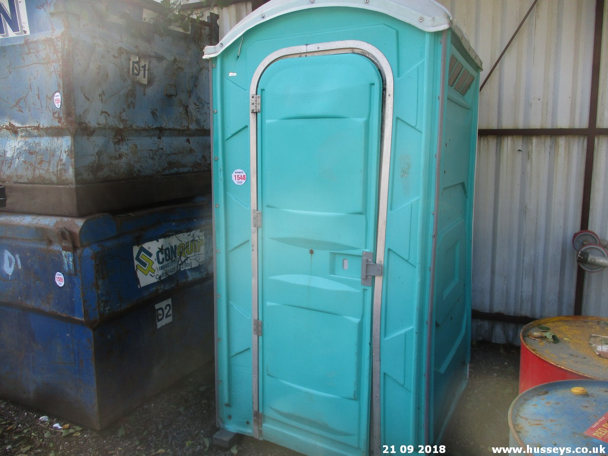 Lot 1548 - PORTABLE TOILET