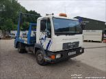 Lot 1502 - 2005 MAN L2000 7.5 TON SKIP LORRY TELEHOIST SKIP BODY