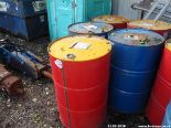 Lot 1546 - 5X40GAL DRUMS