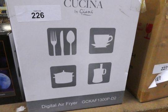 A Cucine Digital Air Fryer Model Gckaf1300p D2 New In Box Bay 19