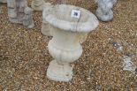 Lot 39 - A pre-cast garden planter, (damaged), approx. 66cm