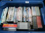 Lot 26 - Contents to plastic crate - CD music sets and DVD's - Dr Dolittle, Gangs of New York,