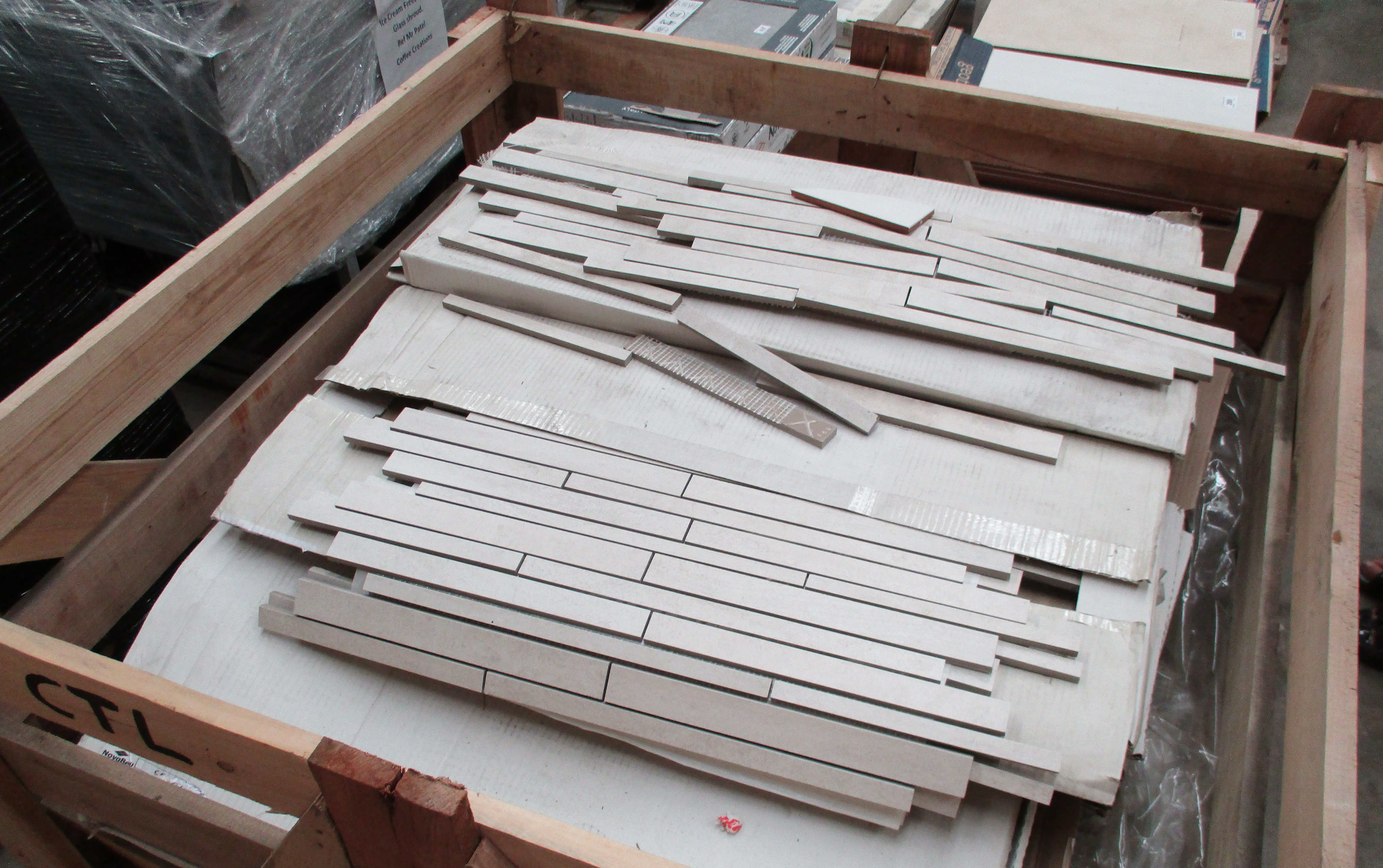 Lot 312A  Wooden Crate And Contents  Approx