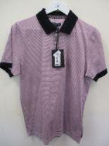 Lot 54 - Ted Baker polo shirt - purple stripe - XXL RRP £69
