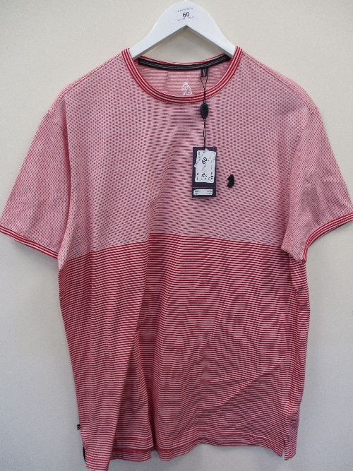Lot 60 - United Kingdom of Luke t-shirt - red - XXL RRP £40