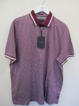 Lot 12 - Ted Baker polo shirt - purple - small RRP £69
