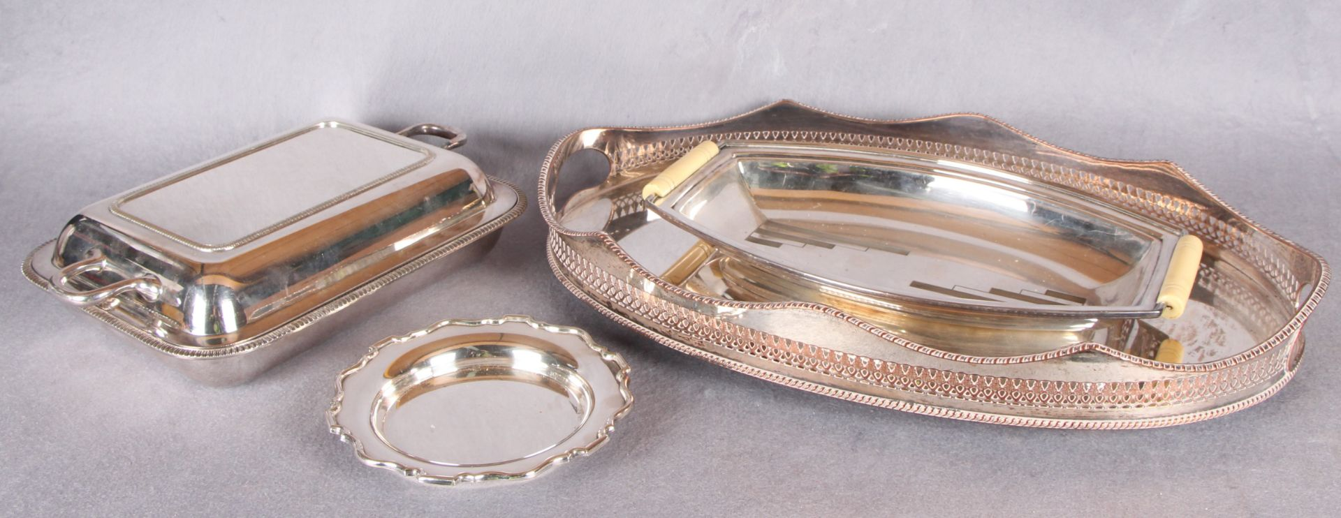 Lot 6 - Plated wares,