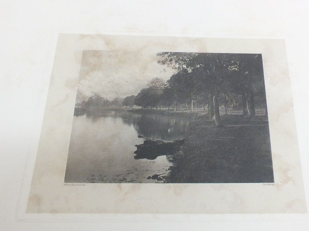 Six Photogravure Engravings By T R Annan From The Norfolk