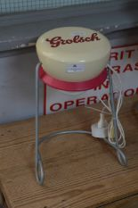 Lot 25 - Grolsch Advertising Table Lamp