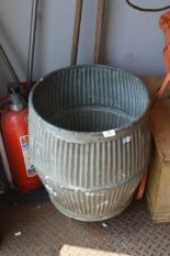 Lot 16 - Galvanised Metal Dolly Tub