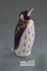 Lot 58 - Royal Crown Derby Ornament - Penguin
