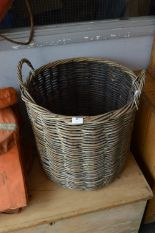 Lot 18 - Cane Log Basket
