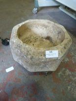 Lot 55 - Small Composite Stone Birdbath
