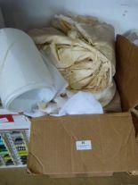 Lot 36 - *Box of Assorted Fabrics
