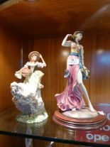 Lot 33 - Leonardo Collection Gypsy Dancer Figure and Anothe