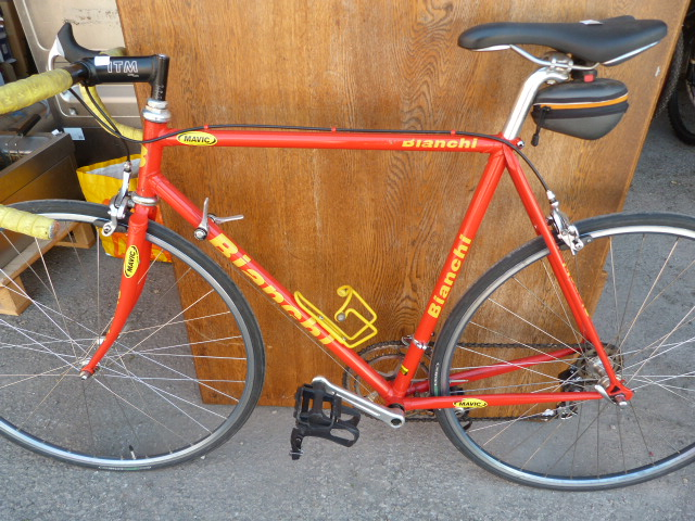 Lot 12 - Boy's Red Racing Bicycle