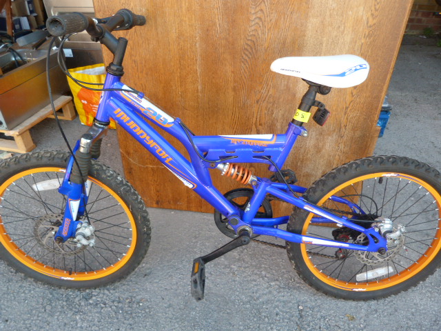Lot 2 - Child's Cyborg Muddyfox Mountain Bike