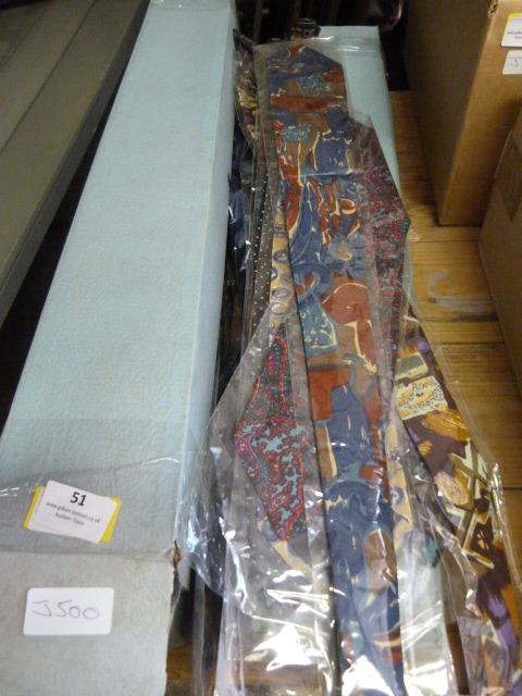 Lot 51 - Approximately 100 Pure Silk Ties