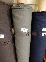 "Lot 39 - 48"" Width Roll of Grey Crepe Fabric 21m"