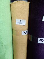"Lot 8 - 48"" Width Roll of Orange Crepe Fabric Approx 5m"