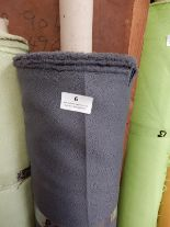 """Lot 6 - 48"""" Width Roll of Grey Crepe Fabric Approx 20m"""