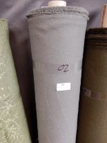 "Lot 35 - 48"" Width Roll of Grey Crepe Fabric 20m"