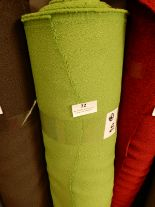 "Lot 32 - 48"" Width Roll of Green Fabric 20m"